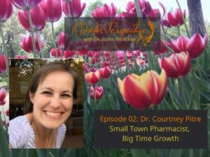 Dr Courtney Pitre pharmacy tulips on a doctors perspective