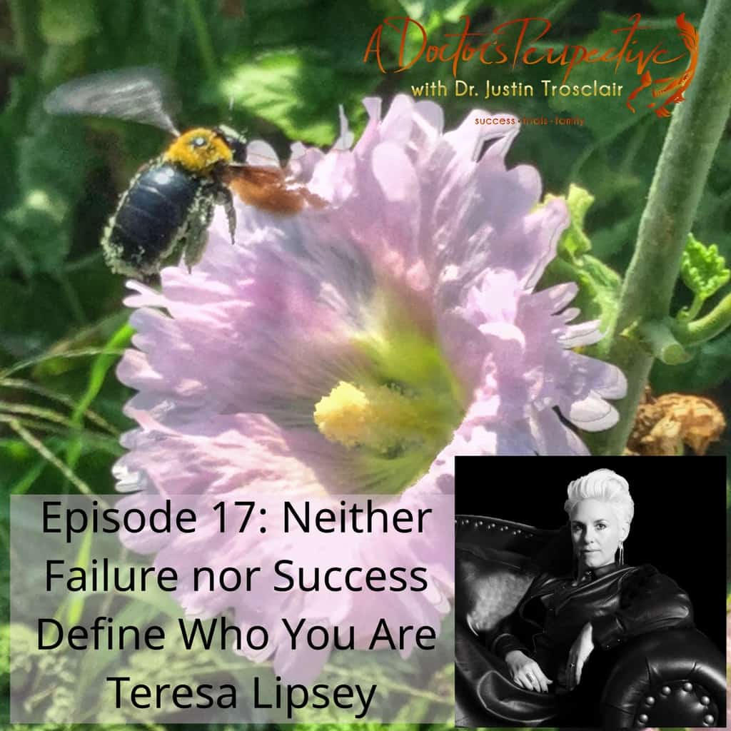 bumble bee pollen 2 purple flower ep 17 Teresa Lipsey Failure nor Success
