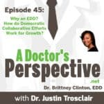 a Doctors Perspective Podcast dr brittney clinton small