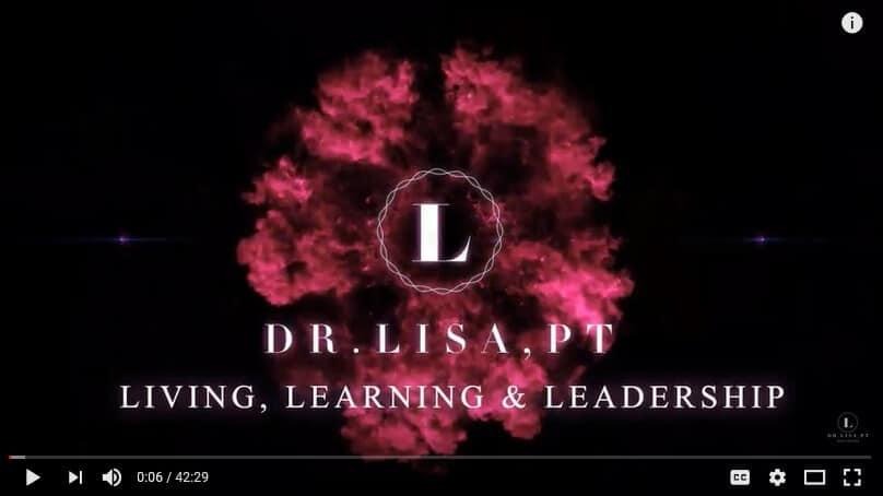 dr lisa living learning leadership bw youtube show