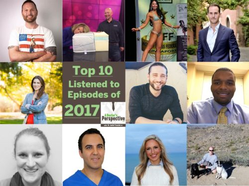 top 10 downloads of 2017 faces A Doctor's Perspective Podcast