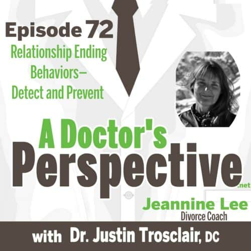 E 72 Relationship Ending Behaviors—Detect and Prevent by