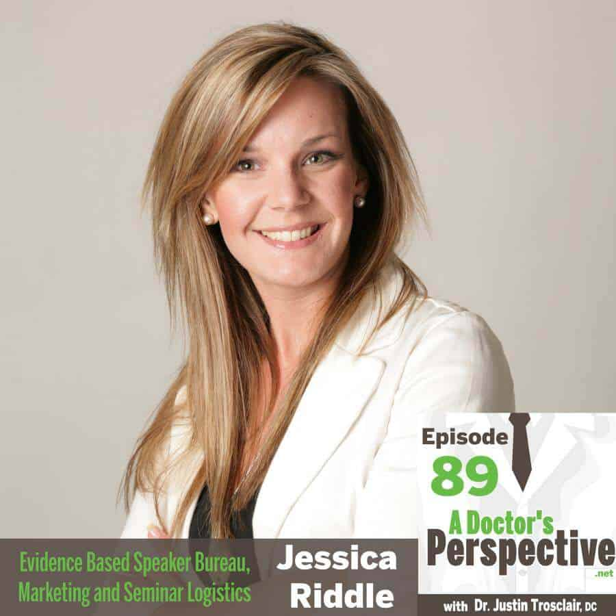 e 89 a doctors perspective podcast jessica riddle speaker bureau seminars 1