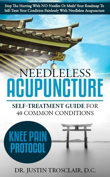 no needle acupunture blueprints for knee pain self treatment