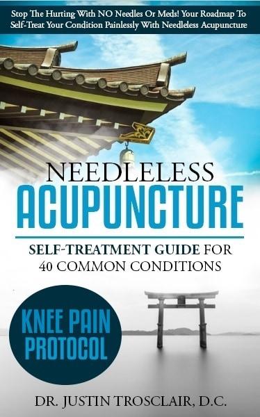 no needle acupunture blueprints for knee pain self treatment
