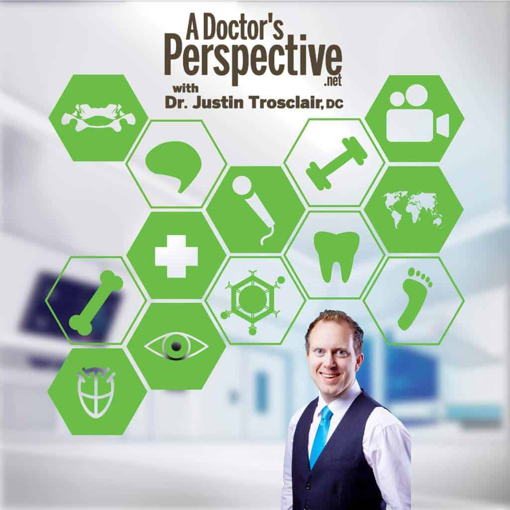 a doctors perspective health podcast official logo