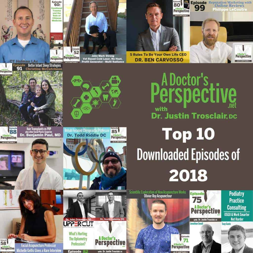 top ten best of 2018 a doctors perspective podcast episodes