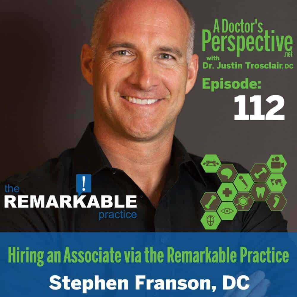 stephen francis staff, systems, hiring an associate the remarkable practice way e 112