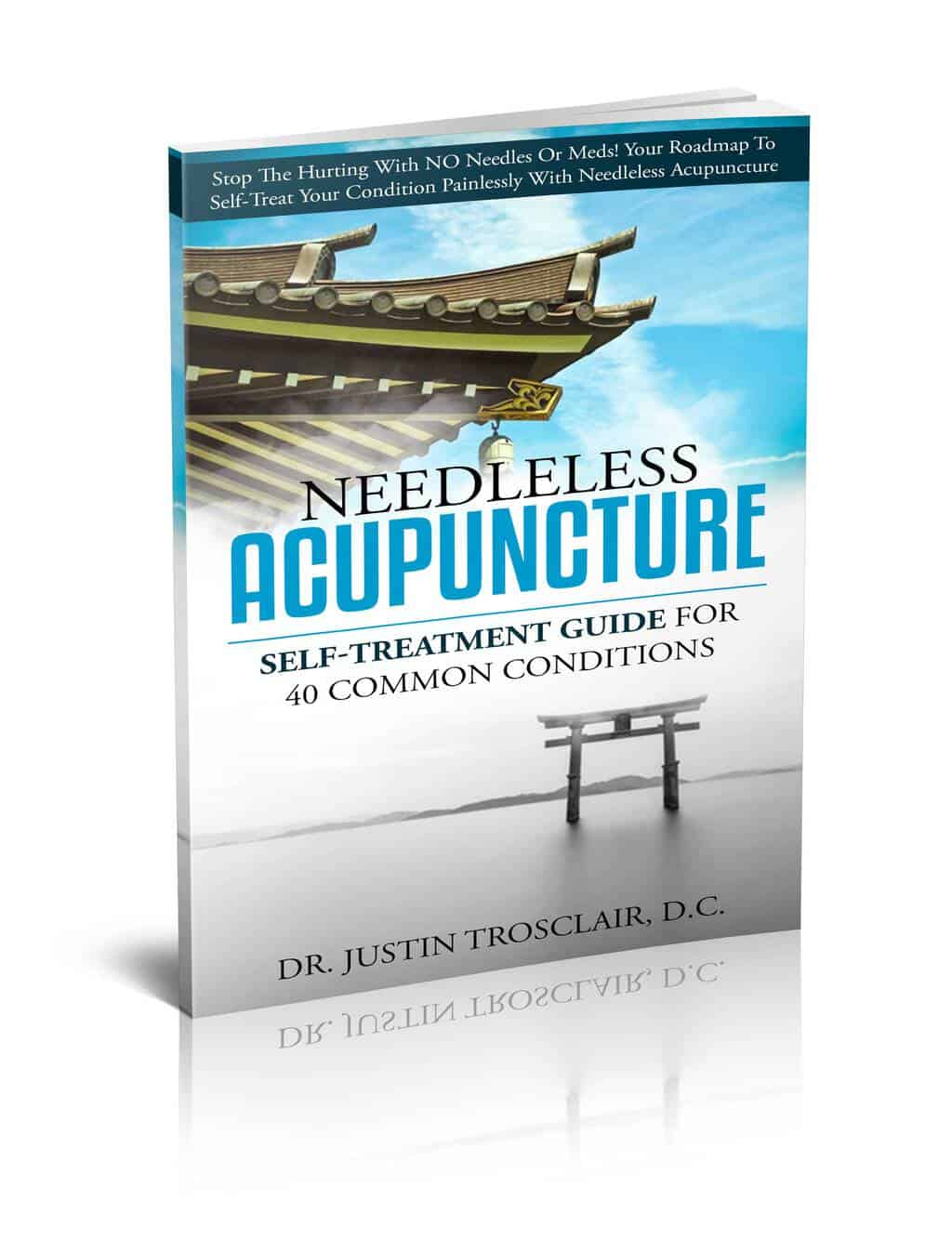 3D-single book needleless acupuncture