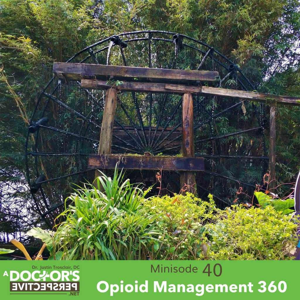a doctors perspective minisode 40 justin trosclair opioids