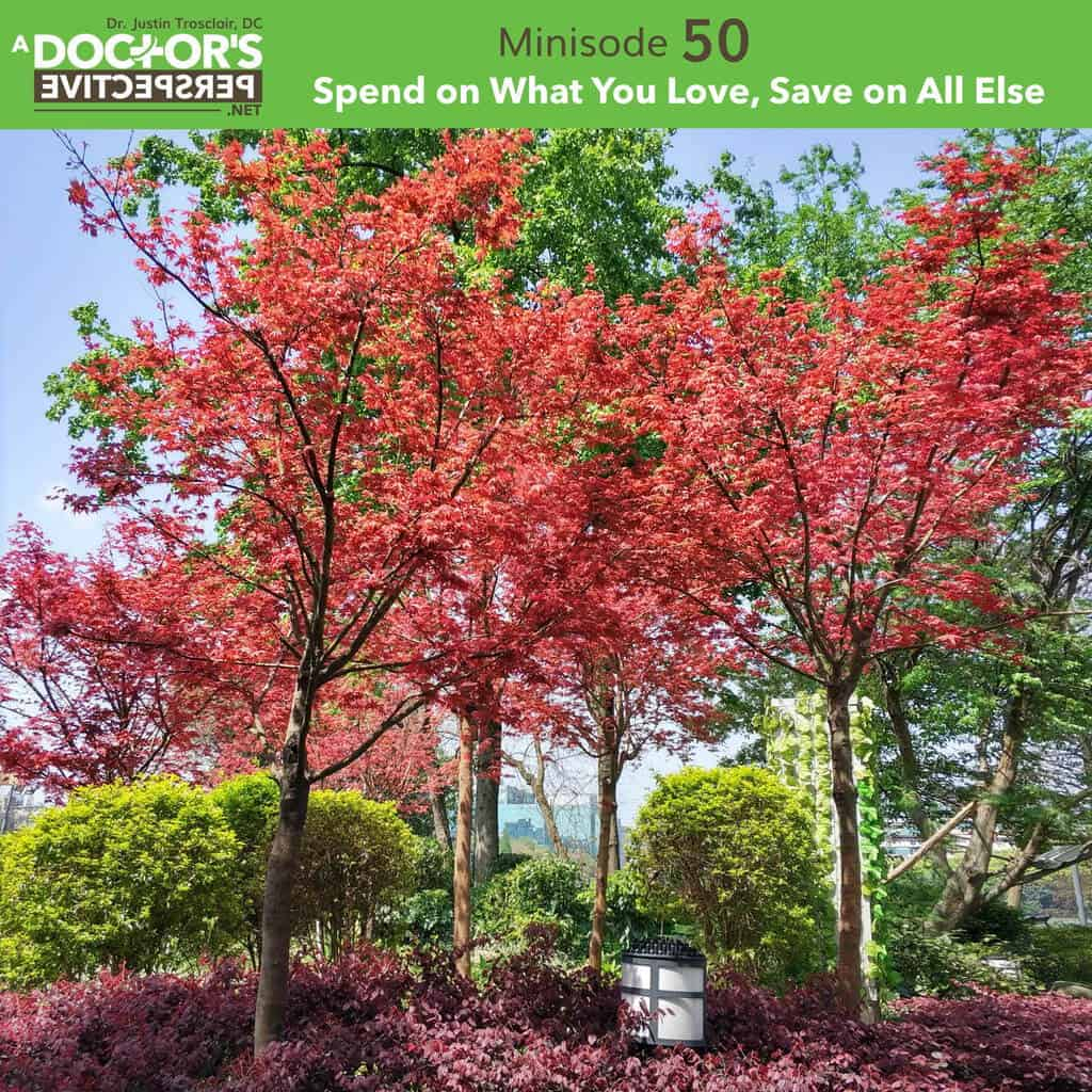 a doctors perspective minisode 50 justin trosclair spend and save