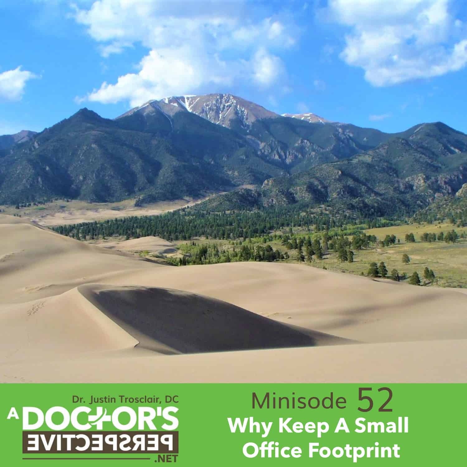 a doctors perspective minisode 52 sand moutains office footprint