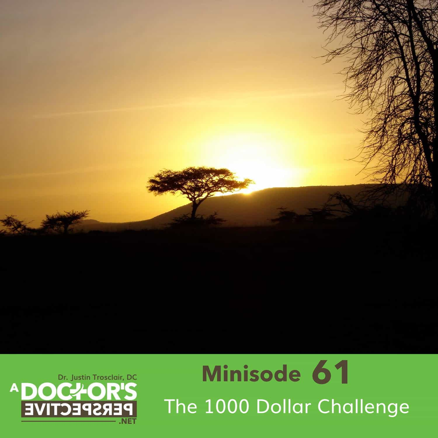 M 61 The 1000 Dollar Challenge kenya picture